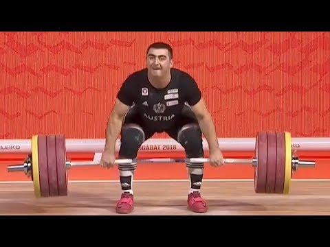 Sargis MARTIROSJAN Zweikampf 389 (179 - 210) - 2018 WM Ashgabat
