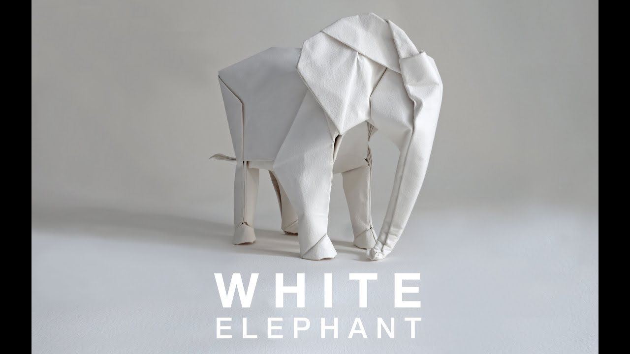 Papercraft WHITE ELEPHANT