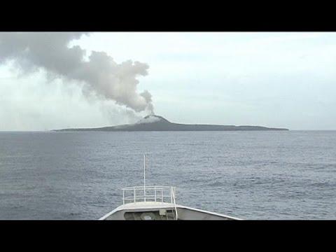 Nishinoshima: Neue japanische Insel kräftig gewachsen