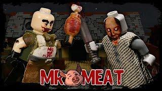 LEGO Мультфильм Mr. Meat против Granny