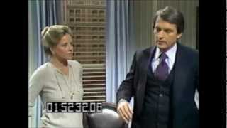 General Hospital September 1979 - Rick & Monica discuss the Kakorian Lawsuit with Howard