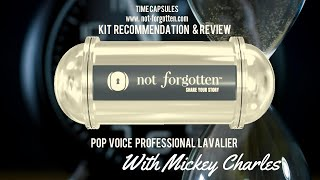 Review and unboxing of the PoP voice Professional Lavalier Microphone
