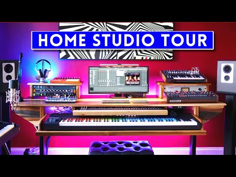 STUDIO TOUR 2020 - All My Gear! Sanjay C
