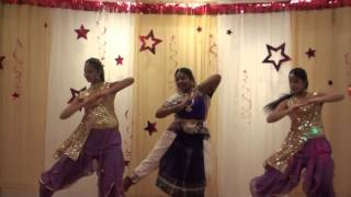 Hridhya Party 2016 - Kuttanadan Punjayile Dance (Anju, Nurin, Zahra)
