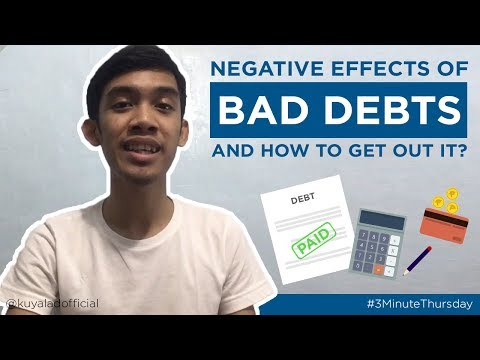Episode 8: Negative Effects of Bad Debt and How to Get Out of It?