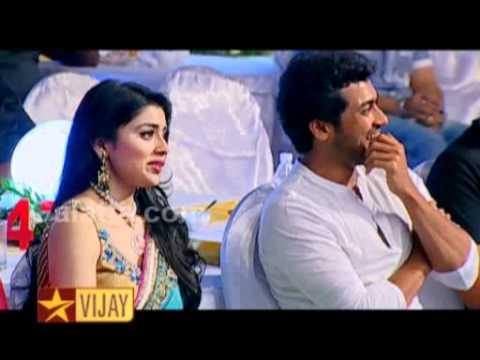 Santhanam at Vijay Awards