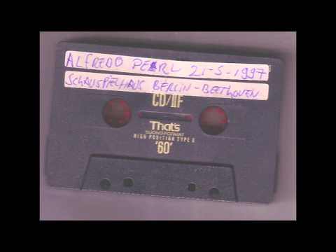 Alfredo Perl live 21-5-1997 Beehoven Waldstein sonate op 53 Schaupielhaus Berlin