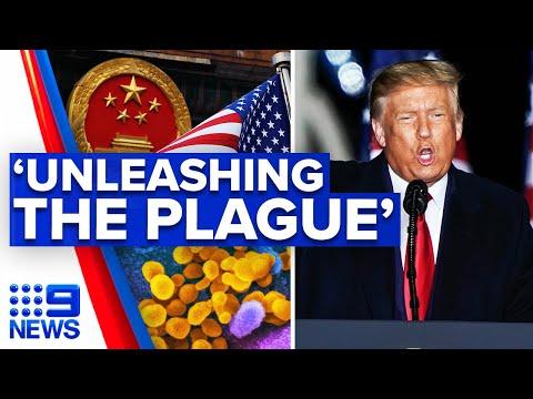 Coronavirus: Trump slams