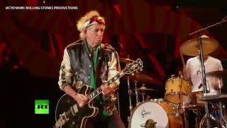 Рок-группа The Rolling Stones впервые выступила на Кубе