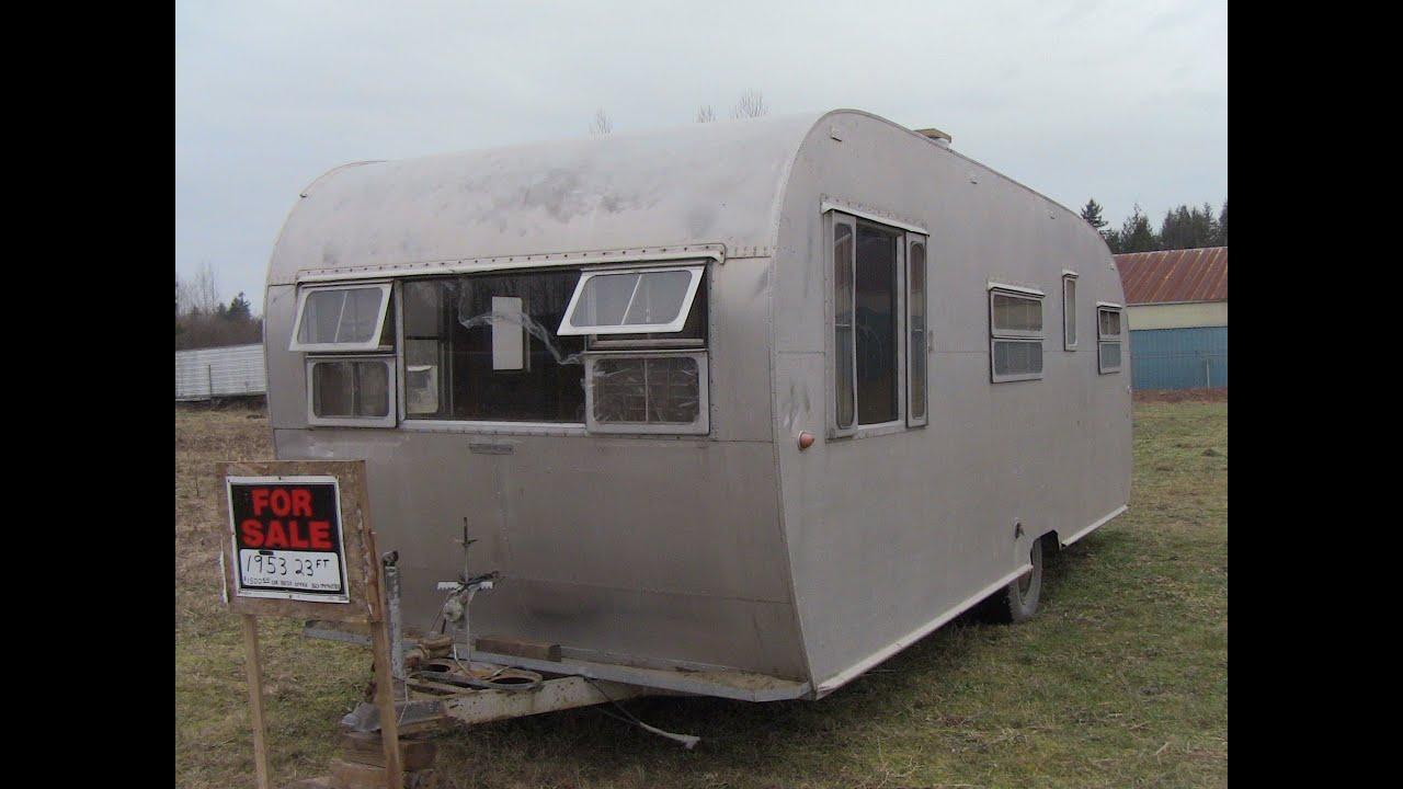 1953 Boles Aero Caravan Camping At It S Finest Youtube