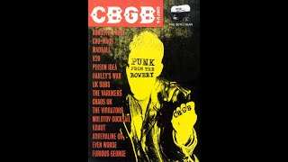 Poison Idea - Punk From The Bowery Live at CBGB