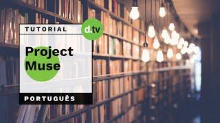 DOTLIB - Project MUSE (Português) - Tutorial