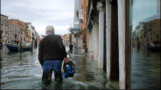 Nouvelle marée haute à Venise