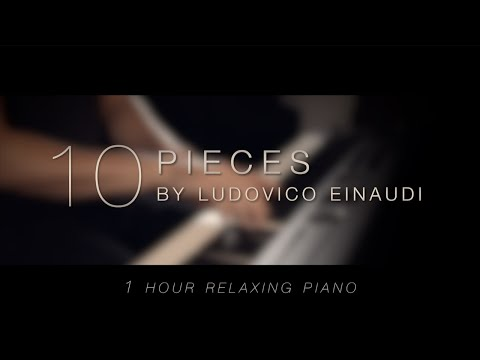 10 Pieces by Ludovico Einaudi \\ Relaxing Piano [1 HOUR]