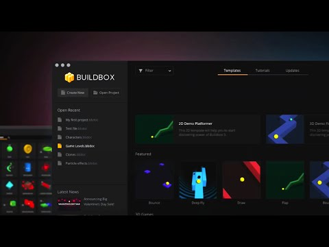 Buildbox FREE Available Now - Make Mobile Video Games With #NoCode