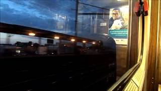 New Jersey Transit HD: Riding Train 7852 From Metropark To New York Penn Station (8 Car Arrow III)