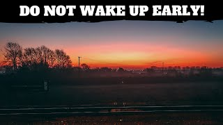 Do Not Wake Up Early - Here's Why Not | Parody | Comedy Sketch