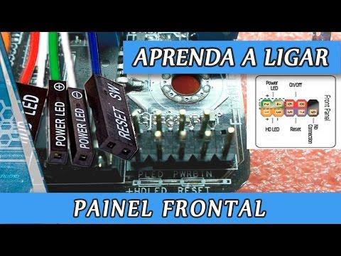 Como ligar o Painel Frontal do PC na placa mãe