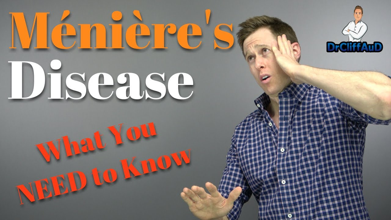 Causes Of Meniere S Disease And Treatment Options Meniere S Disease Cure Youtube