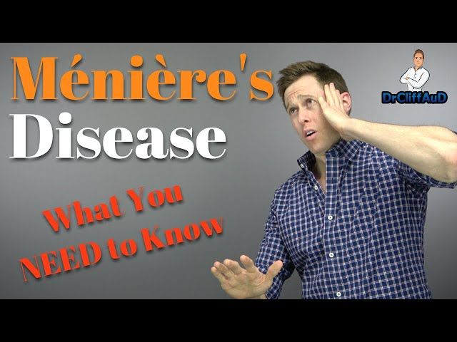Causes of Meniere's Disease and Treatment Options | Meniere's Disease Cure?