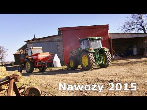Nawozy 2015 z GoPro - 2x Ursus C-360 & Rauch / John Deere 5080 R