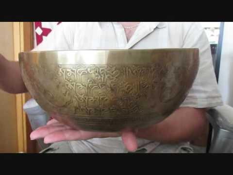 Tibetan Singing Bowl A182 MI2 82 HZ