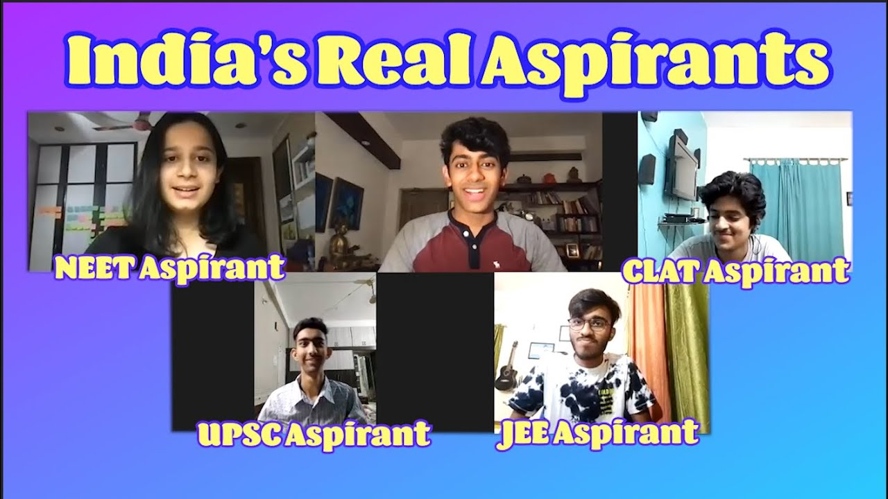 Download India's Real Aspirants RoundTable   JEE, NEET, CLAT, & UPSC