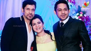 DD's (Divyadarshini) Has Dazzling Wedding Reception | Vikram,Vivekh, Srikanth,Shankar