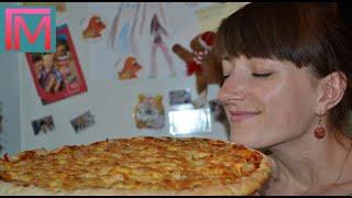 Тонкая итальянская пицца с хрустящей корочкой
