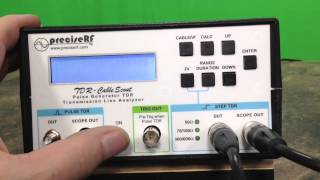 PreciseRF TDR-CableScout Tutorial