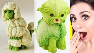 Amazing FOOD ART Challenge