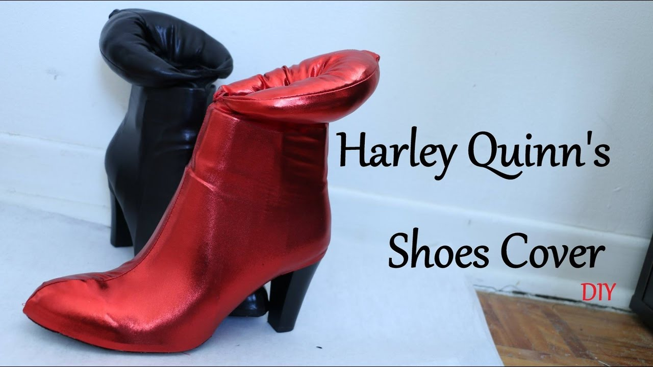 c0a09b5652ebe7 Harley Quinn s shoes cover - YouTube
