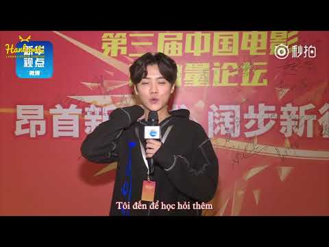 [VIETSUB] 171127 LuHan's Interview with Xinhua News - China Film New Power 2017