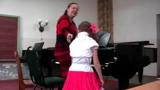 Открытый урок фортепиано с начинающими