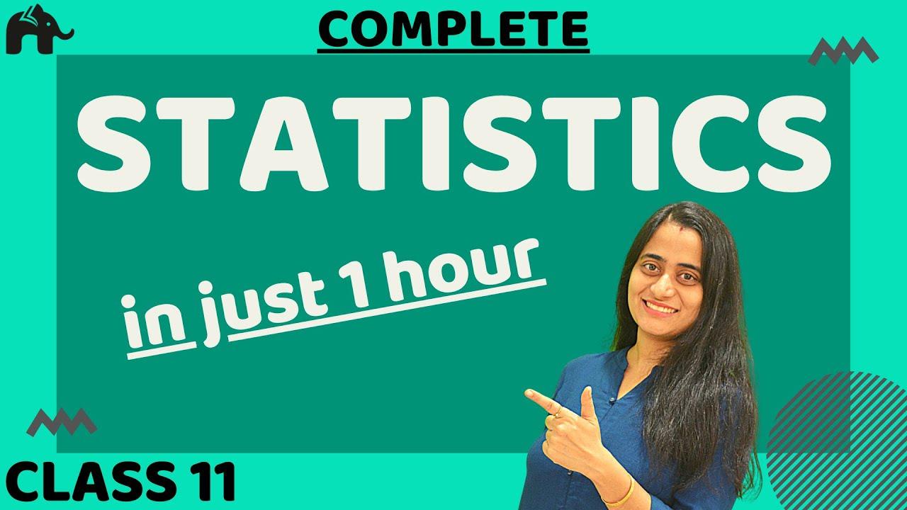 Statistics Class 11 Maths | in Hindi