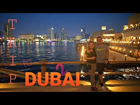 TRIP to DUBAI Pt.2 | AL MAMZAR BEACH PARK | AL SEEF DUBAI CREEK