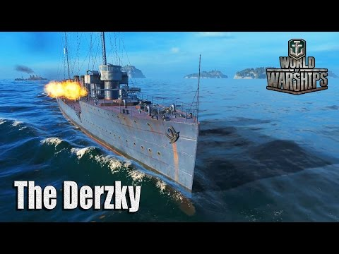 World of Warships: The Derzky