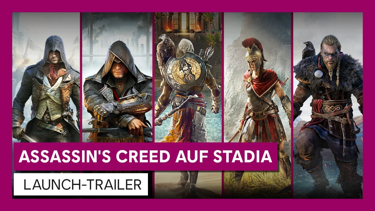 ASSASSIN'S CREED AUF STADIA | LAUNCH-TRAILER