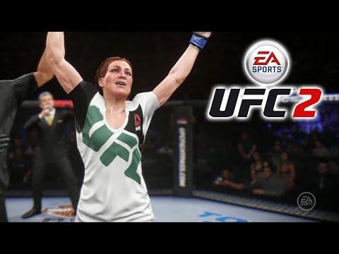 UFC 2 - Carreira Feminina - FINAL ÉPICO!!!!! [ Playstation 4 - Playthrough PT-BR ]
