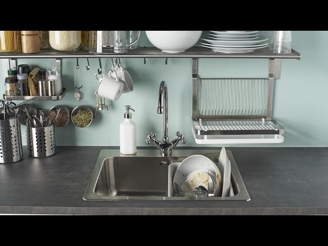 ikea cuisine accessoires muraux rangement mural en verre arm with ikea cuisine accessoires. Black Bedroom Furniture Sets. Home Design Ideas