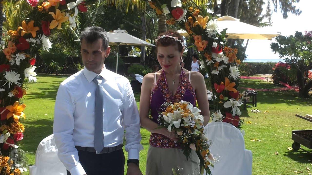 Matrimonio Spiaggia Mauritius : Mauritius matrimonio in spiaggia youtube