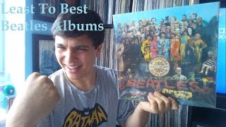 least to best beatles albums