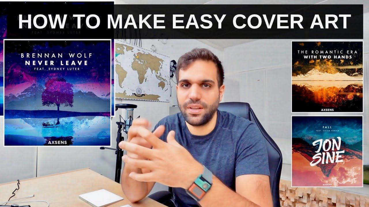 HOW TO MAKE COVER ART FOR YOUR RELEASES FAST AND EASY
