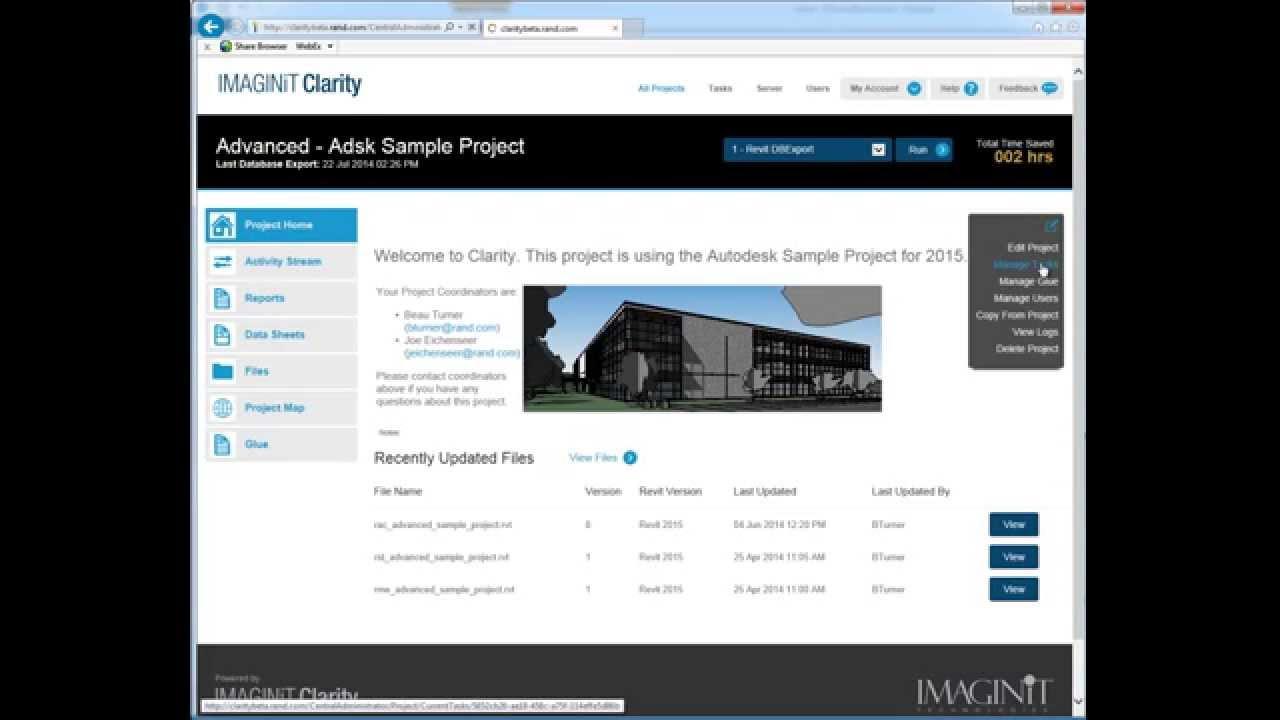 IMAGINiT Building Solutions Blog: Revit Architecture