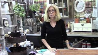 Vintage Market & Design Furniture Paint- Painting Part 1