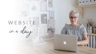 Website in a Day Challenge! Make Your Site With WIX