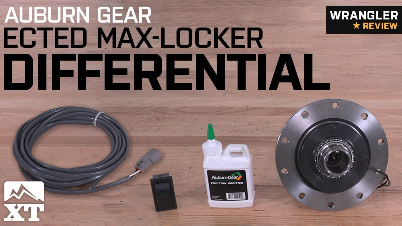 maxresdefault jeep wrangler auburn gear ected max locker differential (1987 2018