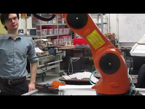 Palletization Method with a KUKA Industrial Robotic Arm