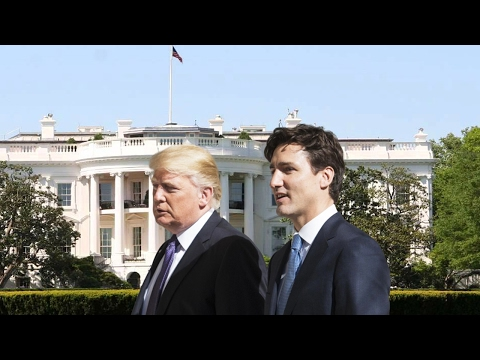 "Canadian PM Trudeau in ""charm offensive"" to keep trade ties with US"