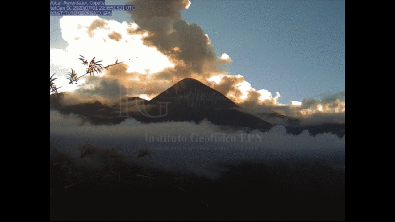 July 1, 2020, ~ Reventador Volcano, Ecuador ~ Strange Eruption Location